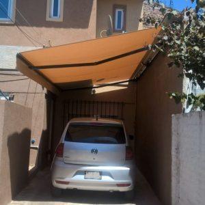 Toldo Brazos invisibles para estacionamientos